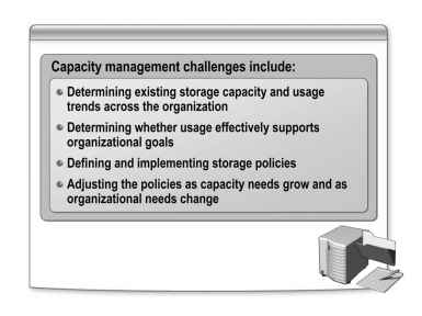 Capacity Management Issues