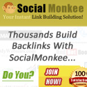 Powerful Link Building Site Over 100k Members! Socialmonkee Rocks!